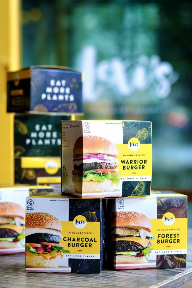 Lexi's Plant-Based Burger Patties