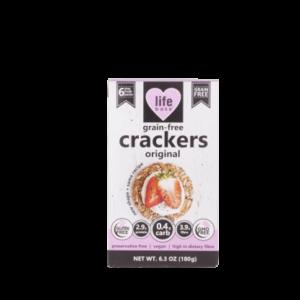 Life Bake Grain-Free Seed Crackers 180g